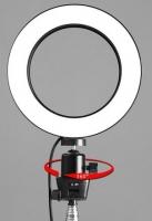"LED Ring Light 10"" + ljósastandur"