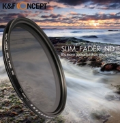 58 mm ND filter - Stillanlegur
